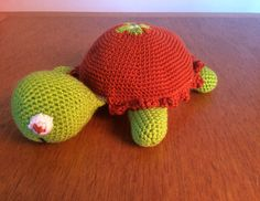 Amigurumi schildpad turtle
