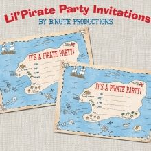 pirate party birthday printable