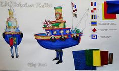 The Velveteen Rabbit. (Tug Boat) Florida State University. Costume design by Colleen Muscha. 2009