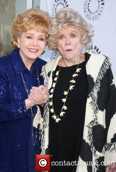 Debbie Reynolds and Phyllis Diller.