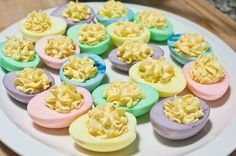 Easter devilled Eggs