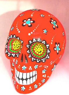 Day of the Dead: mexican sugar skulls #Mexico