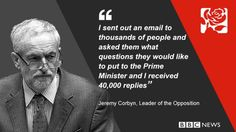 "Jeremy Corbyn asked David Cameron questions emailed to him from the public as he tried what he called ""a different"" style for his debut PMQs."