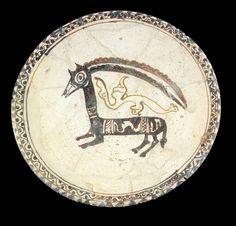 Hallado en Nishapur,Iran Siglo X-XI Museo Islamico de Teheran.