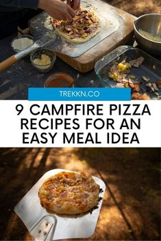 Campfire Pizza Recipes for a Delicious Meal in the Great Outdoors: Who doesn't love pizza? Answer: no one. It's a classic American dish that can be made so many different ways that there's a pizza for everyone. And bonus: it's also super easy to make over the campfire! Here are nine campfire pizza recipes for your next camping adventure (one of them even makes a fun family activity). From meat-filled to veggies galore and more, we think you'll love this roundup of campfire pizzas! Campfire Pizza, American Dishes, Love Pizza, Camping Meals, Pizza Recipes, Super Easy, Easy Meals, Veggies, Yummy Food