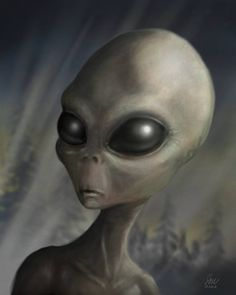 Grey alien (Not very friendly at all) Maybe some are? | Alien ...