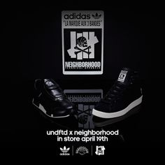 the latest 41a55 7963f Undefeated x Neighborhood x Adidas Consortium