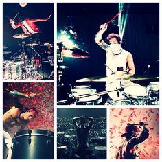Drummy Jøsh! Get it Jøsh!!!❤️❤️❤️