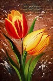 flores pintadas - Buscar con Google
