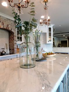 Supreme Kitchen Remodeling Choosing Your New Kitchen Countertops Ideas. Mind Blowing Kitchen Remodeling Choosing Your New Kitchen Countertops Ideas. Cheap Kitchen Countertops, Epoxy Countertop, Kitchen Countertop Materials, Painted Countertops, Stone Coat Countertop, Kitchen Cabinets, Faux Granite Countertops, Painting Kitchen Countertops, Kitchens