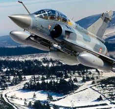 Air Force - Dassault Mirage 2000D is the Conventional Attack Counterpart to the Nuclear Strike Mirage 2000N - Like the Mirage 2000N, the Mirage 2000D had variants. The Mirage 2000D-R1 Does Not have the Full Weapons Capability of the Mirage 2000D-R2, which Features the Apache and Scalp Missiles, the ATLIS II Laser Designation System and the Samir Self-Protection Fit (2)