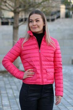 J.O.T.T-Sonia Fushia Winter Jackets, Fashion, Scale Model, Winter Coats, Moda, La Mode, Fasion, Fashion Models, Trendy Fashion