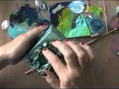 "▶ Tagalong tuesday week 18 ""mixed media canvas"" - YouTube"