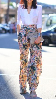 love the wide pants...