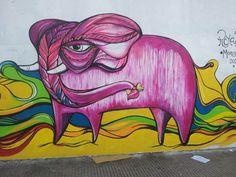 Elefante rosado subte Palermo