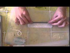 tutorial pulsera arcilla polimerica fimo con la técnica de grabado con transferencia (español) - YouTube