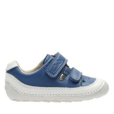 Tiny Boy Baby Blue Leather - Boys Pre-walker & Baby Shoes - Clarks® Shoes Official Site - Tiny shoes for Little Guy