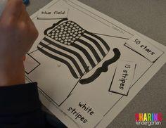 Flag labeling activi