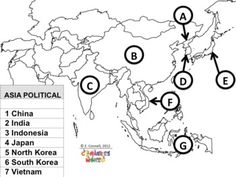 South-West Asia : free map, free blank map, free outline