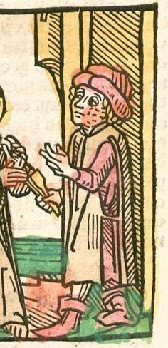 Speculum humanae salvationis Augsburg, 1492 Ink S-514 - GW M43008  Folio 108