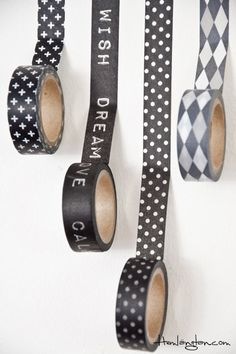 Washi tape #Bloomingville #Hemlängtan