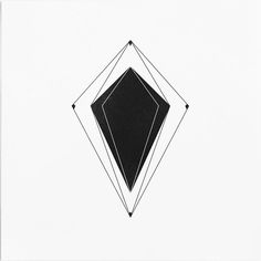 I'm obsessed with this simple geometric design. Perfect for a tattoo on the back upper arm
