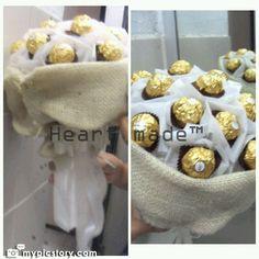 Ferrero Bouquet, Snow Flower, Chocolate Bouquet, Sale On, Facebook, Collection, Food, Essen, Meals