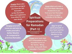 Spiritual Preparations for Ramadhan 1 Islam Ramadan, Ramadan Mubarak, Adha Mubarak, Ramadan Tips, Ramadan Crafts, Quran Quotes, Islamic Quotes, Ramadan Is Coming, Laylat Al Qadr