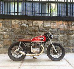 Honda CB360 #caferacer discover #motomood