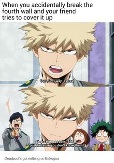Image result for my hero academia memes