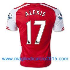 Alexis Ozil Wilshere Ramsey Arsenal Home Soccer Jersey Football Shirt S M XL 04ea60afc