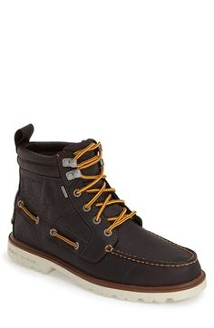 Sperry 'Authentic Original' Waterproof Lug Boot (Men) available at #Nordstrom