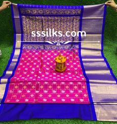 Indian Handloom Sarees and Silks Kuppadam Pattu Sarees, Handloom Saree, Pure Silk Sarees, Chanel Boy Bag, Shoulder Bag, Pure Products, Shoulder Bags