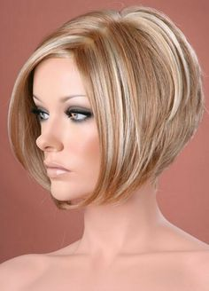 Hair Beauty - Blonde,Black-Short Wigs rule in the world of hair fashion. Curly Bob Wigs, Short Hair Wigs, Long Curly Hair, Curly Hair Styles, Wig Bob, Bob Haircut For Fine Hair, Bob Hairstyles For Fine Hair, Wig Hairstyles, Short Ladies Hairstyles