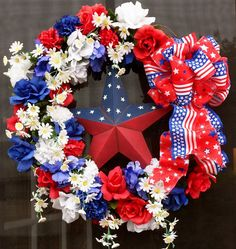 Hometalk :: The gals from Anything Blue Friday showed up with some patriotic decor…