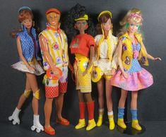 barbie california - I had ken, barbie and the red head 1980s Barbie, Barbie Toys, Barbie Life, Vintage Barbie Dolls, Barbie World, Barbie And Ken, Barbie Clothes, Barbie Dream, 80s Fashion