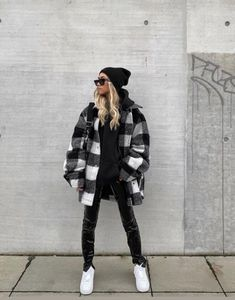 Trendy Fall Outfits, Casual Winter Outfits, Winter Fashion Outfits, Edgy Outfits, Outfits For Teens, Tomboy Fashion, Look Fashion, Streetwear Fashion, Grunge Fashion