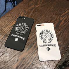 ファションブランド Chrome Hearts クロムハーツ iphone7ケース iphone7plusケース ペア カップル向け アイフォン7/7plusハードケース iphone6s plusケース男女兼用ペアルックiphoneケース