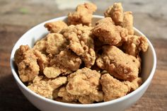 Vegan popcorn chicken