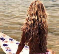 Letting your main loose - beach hairstyles on the #blog