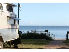 Scarness Beach Front Caravan Park - Check out the Campedia App for their great prices Stuff To Do, Things To Do, Caravan, App, Activities, Beach, Places, Check, Things To Make