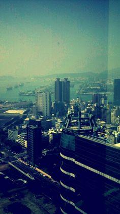 高雄85大樓窗外景色
