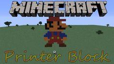 PrinterBlock Mod for Minecraft 1.7.10