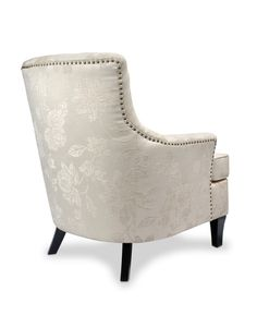 http://www.bonsoni.com/jabel-fleur-cream-armchair-by-sherman  This welcoming armchair features bags of charm with buttoned upholstery and studded detailing - twinned with a stylish floral jacquard fabric. The high-fashion - almost vintage styling and the comfortable and hardwearing upholstery is sure to make this a hit. Leg assembly required.  http://www.bonsoni.com/jabel-fleur-cream-armchair-by-sherman