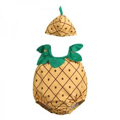Easter Fun Baby Pineapple One-piece Swimsuit and Hat Set Baby Costume