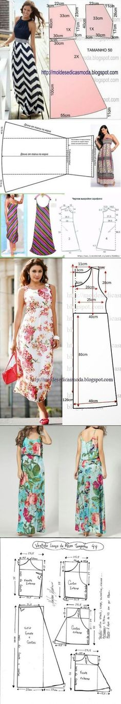 Easy 20 Sewing tutorials tips are offered on our internet site. Easy 20 Sewing tutorials tips are off. Long Dress Patterns, Dress Sewing Patterns, Sewing Patterns Free, Sewing Tutorials, Sewing Projects, Sewing Tips, Sewing Hacks, Fashion Sewing, Diy Fashion