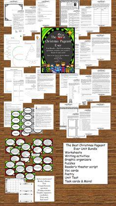 47bb86a4506 Best Christmas Pageant Ever Literature Unit Bundle
