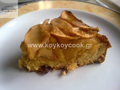 0404201314788 Greek Desserts, Greek Recipes, Vegan Desserts, Vegan Vegetarian, Vegetarian Recipes, Healthy Recipes, Meals Without Meat, Cake Recipes, Dessert Recipes