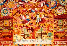 Natalya Goncharova (Russian, 1881–1962)Study for backdrop for the ballet Le Coq d'or (The Golden Cockerel)