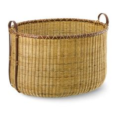 Williams-Sonoma Tonal Basket ($175) ❤ liked on Polyvore featuring home, home decor, small item storage, weave basket, weave storage baskets, williams sonoma baskets, handmade home decor and storage baskets